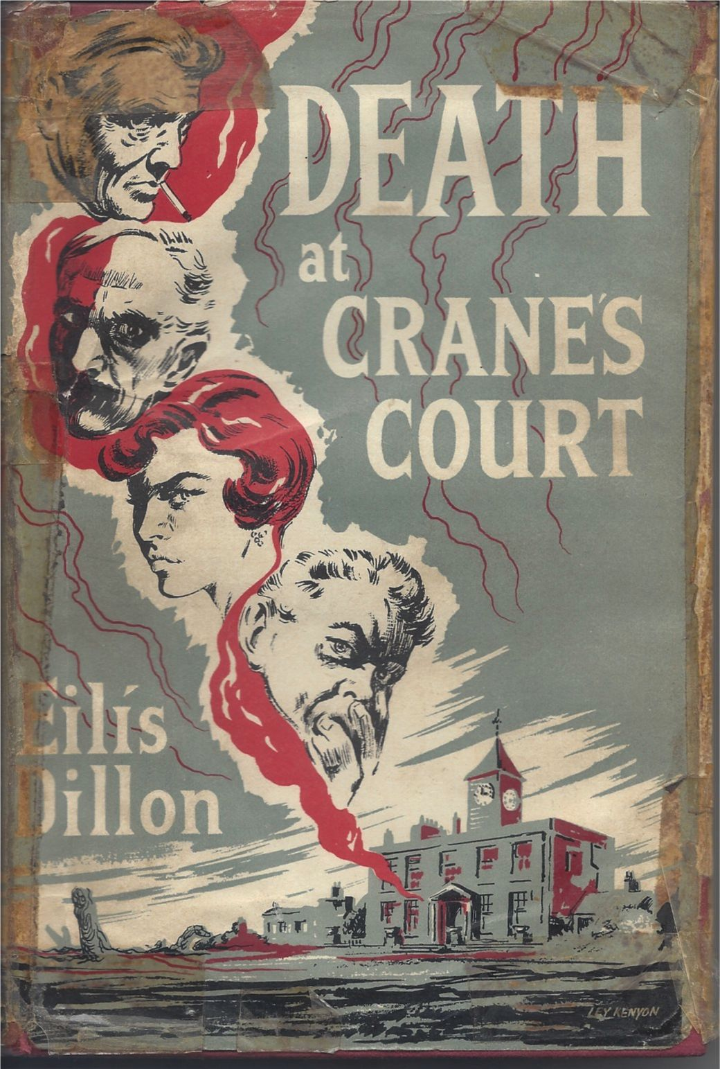 Death at Crane's Court, first edition