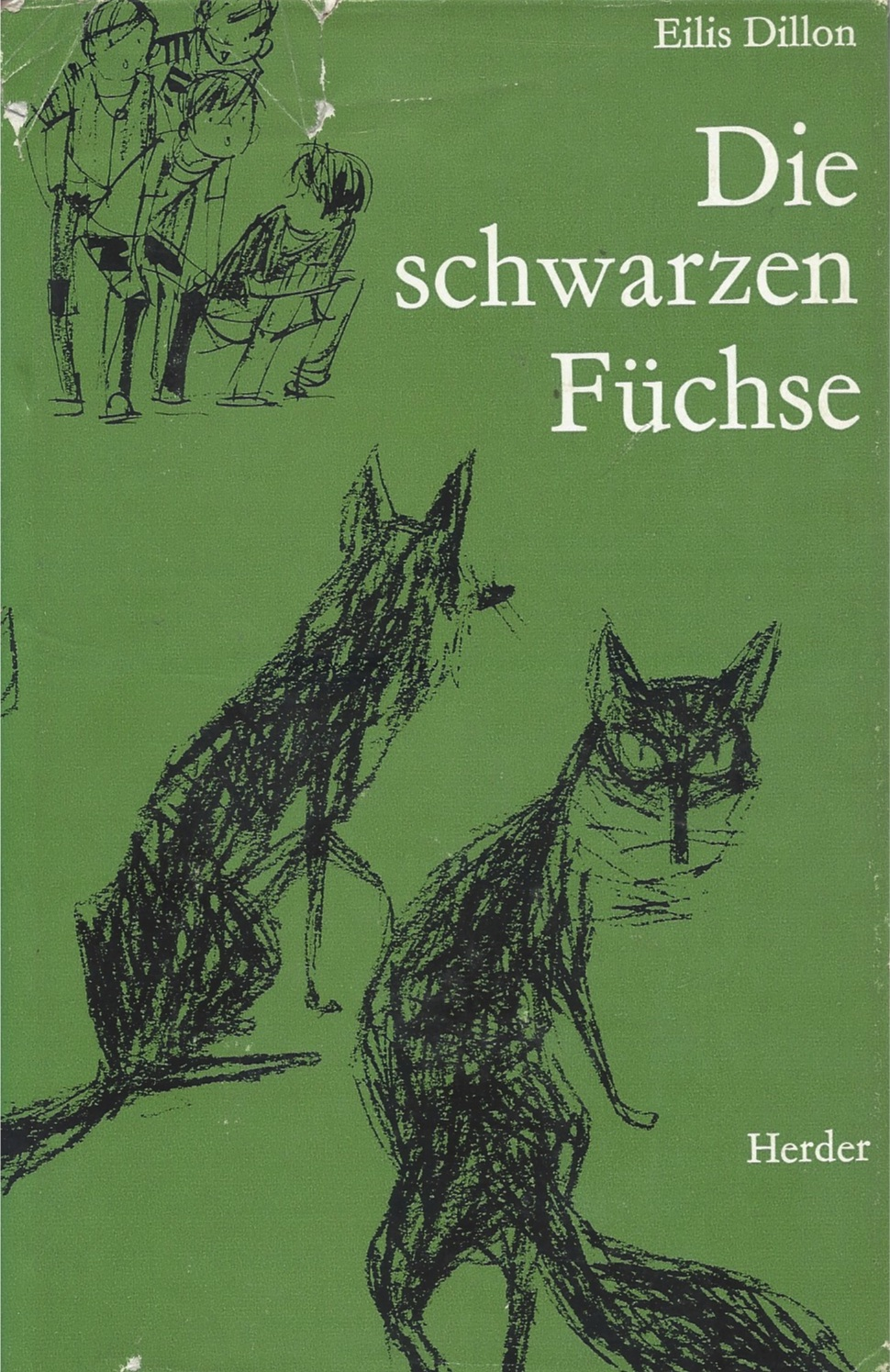 A Family of Foxes, German edition